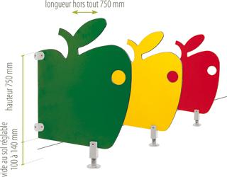 separation d 39 urinoir pomme france equipement cr che roquemaure equipements pinterest. Black Bedroom Furniture Sets. Home Design Ideas