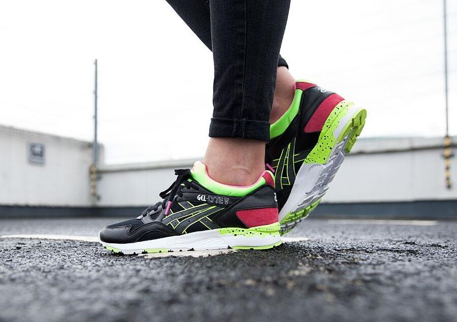asics gel lyte rose fluo