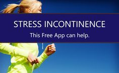 Pelvic floor exercises are very effective as treatment for stress urinary incontinence. This free mobile app helps people do them effectively.