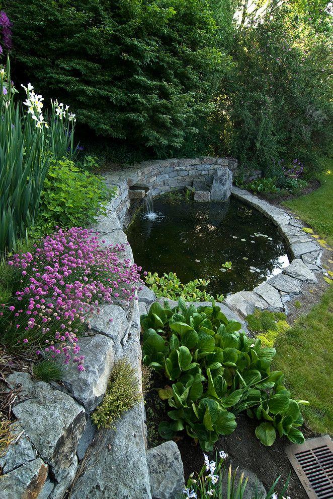 Terrific Koi Ponds Decorating Ideas Yacineaziz Garden Pond Design Pond Landscaping Water Features In The Garden