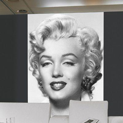 Brewster Home Fashions Ideal Decor Marilyn Monroe Wall