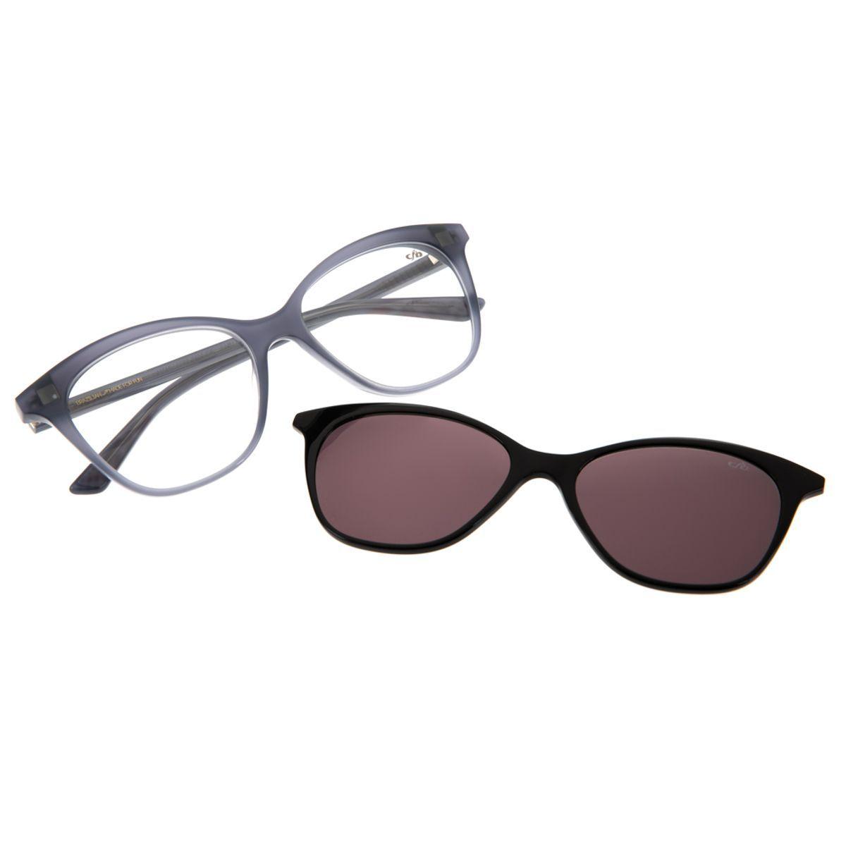 Armacao Para Oculos De Grau Chilli Beans Feminino Multi Clip On
