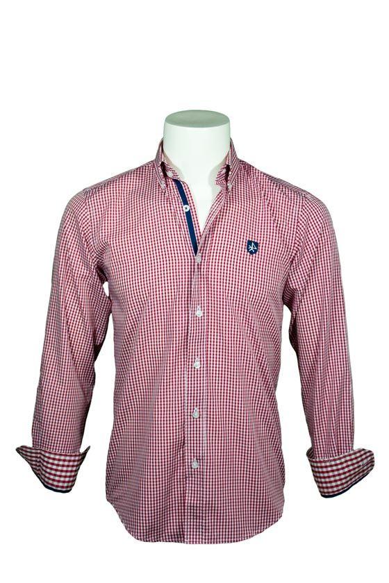 edd9695b36d Camisa Valecuatro de cuadros vichy rojos. Nueva colección Otoño Invierno  2014 2015  camisas  ropa  hombre.