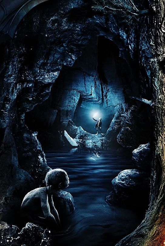 Riddles in the Dark Middle Earth The hobbit, Lord of