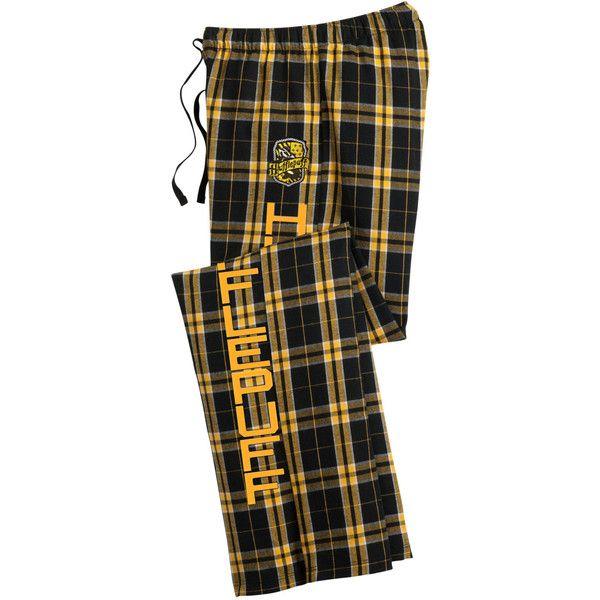 cfff5aea8fb4 Hogwarts House Flannel Pant ($40) ❤ liked on Polyvore featuring intimates,  sleepwear, pajamas, harry potter, hufflepuff, sleep, sweatpants, flannel  pjs, ...