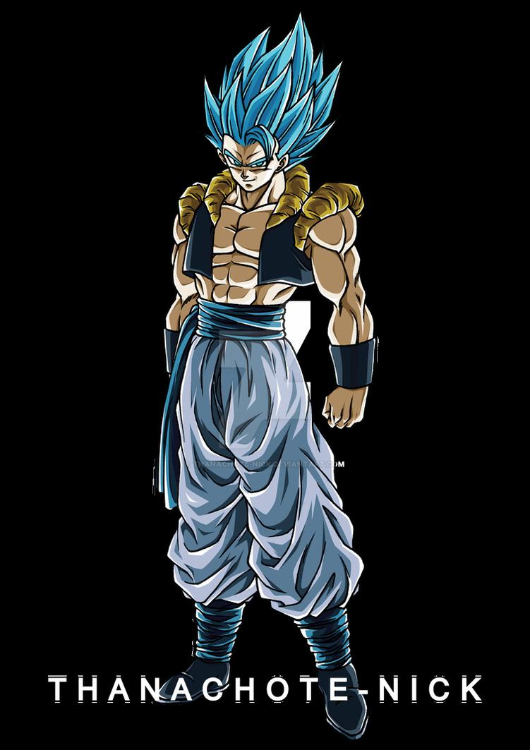 Gogeta SSGSS - DBS [COLOR-1] by Thanachote-Nick on DeviantArt in 2020 |  Dragon ball super manga, Anime dragon ball super, Dragon ball art