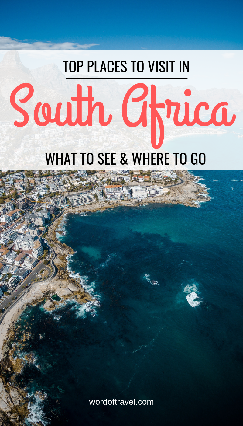 Top places to visit in South Africa South africa travel