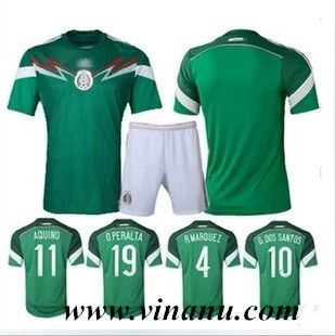 fc28ec00d Mexico home kit for 2014 FIFA World Cup
