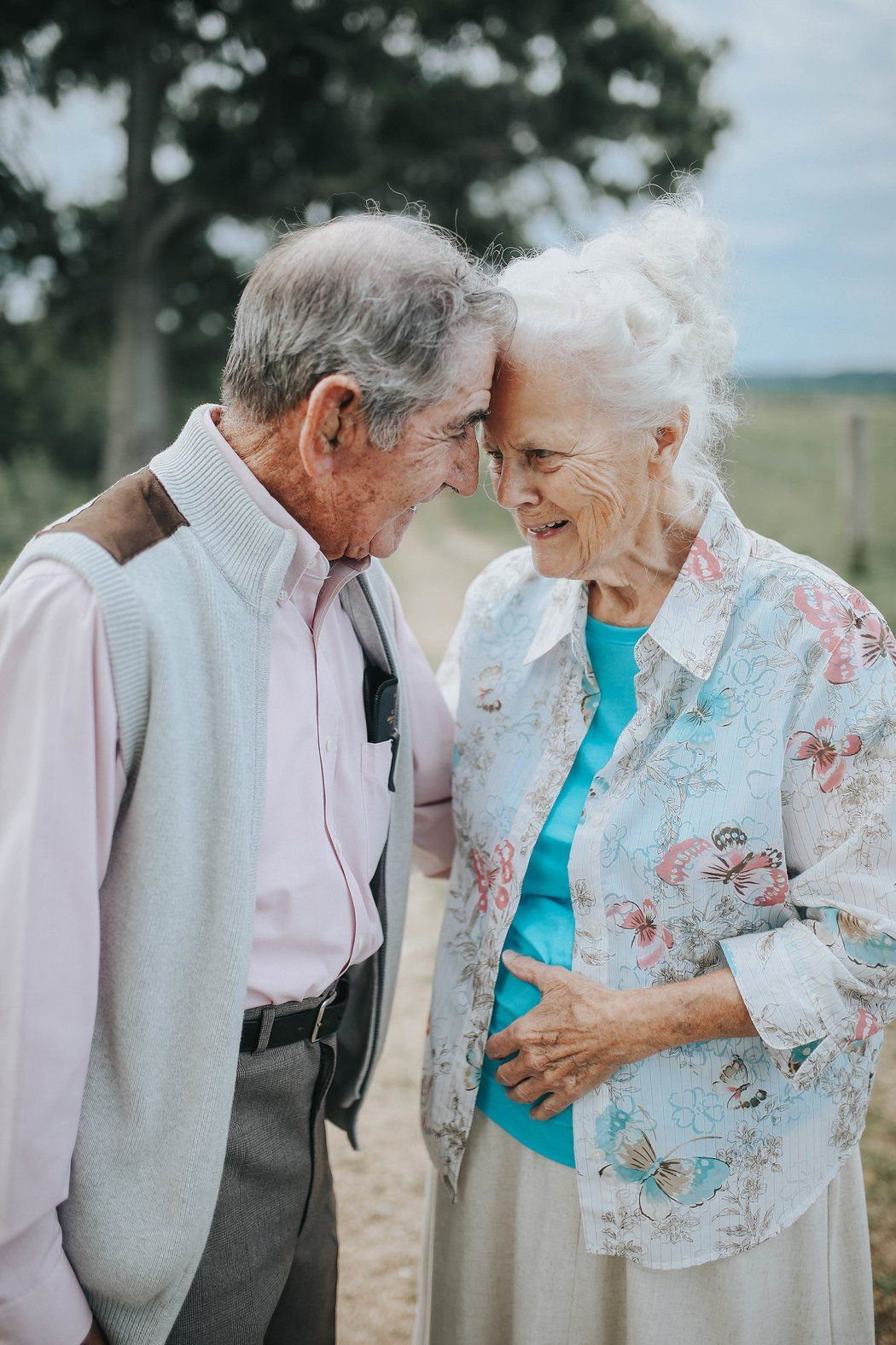 Lovebirds Married for 68 Years Prove Love Never Dies