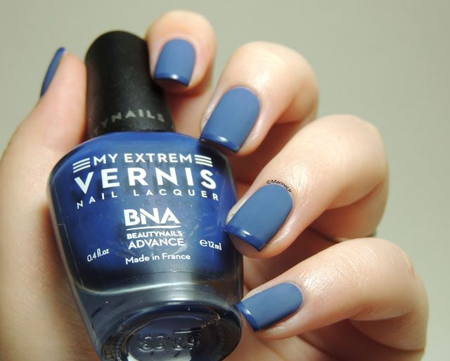 My Extrem Skinny Blue - My Extrem Matte Finish - Glossy Vs Matte French Manicure - Textured French Manicure