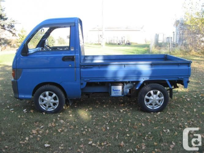 Daihatsu Hijet Japanese Mini Truck On Road Legal Mini