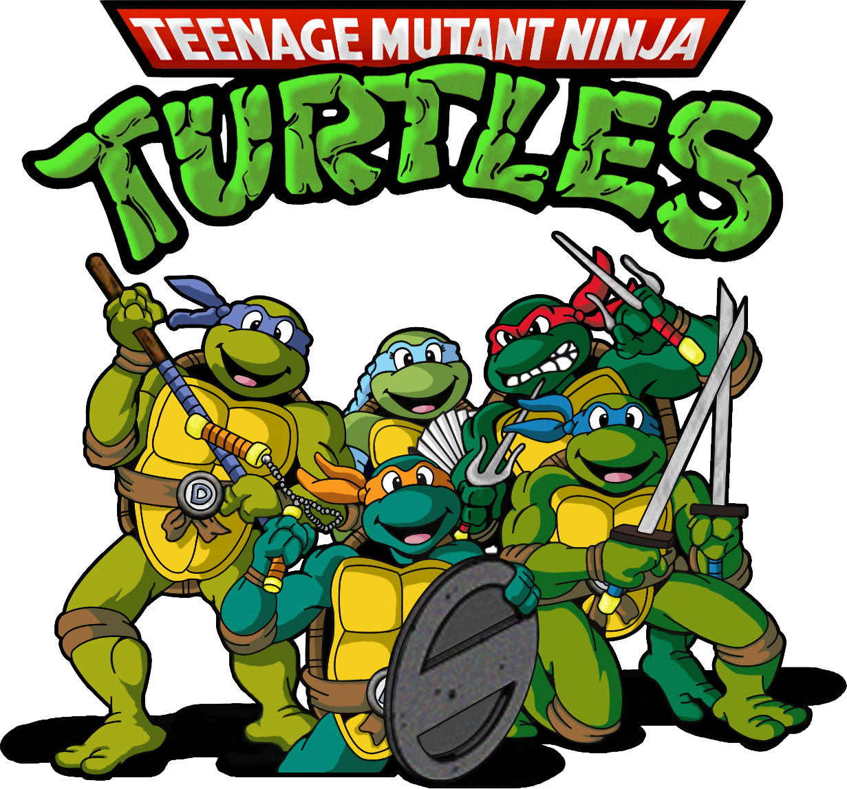Teenage Mutant Ninja Turtles Transparent
