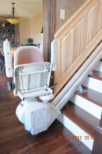 White Stair Lifts With Folding Chairs Google Search Farmhouse Table Chairs Chair Farmhouse Dining Chairs
