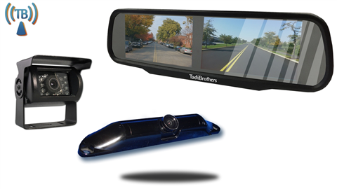 Backup Camera For Truck And 5th Wheel Including 2 Wireless Cameras