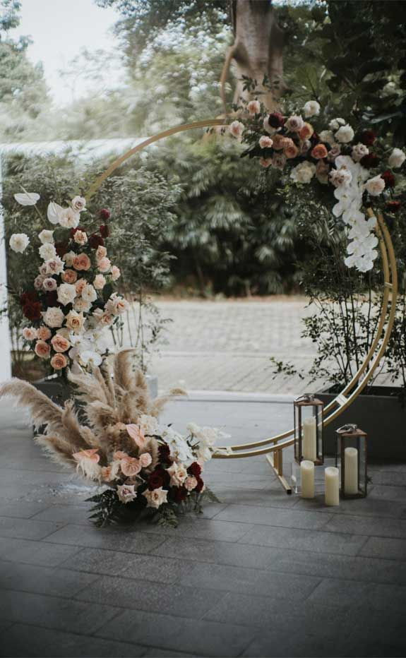 These Fab Boho Wedding Altars, Arches and Backdrops that make us swoon 2