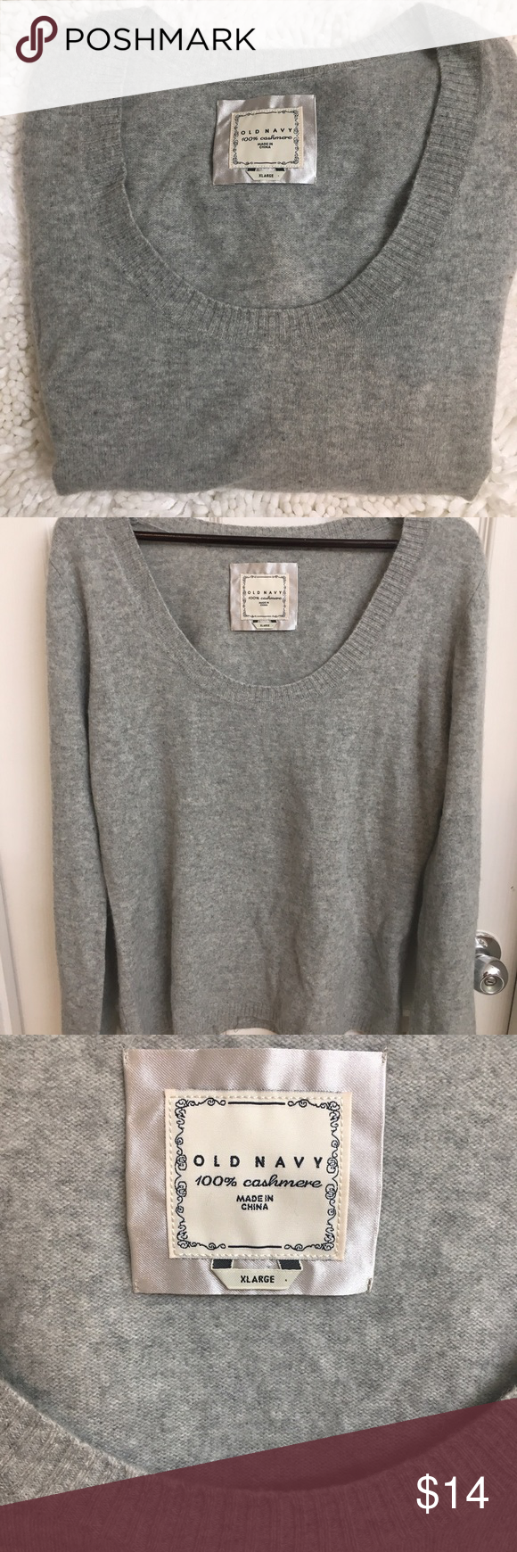 Old Navy 100% Cashmere Sweater | Navy sweaters, Cashmere sweaters ...