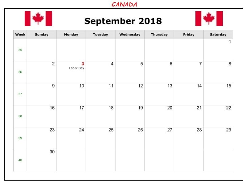 September 2018 Calendar With Holidays Public Bank National And