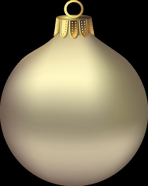 Transparent Christmas Gold Ornament Clipart Christmas