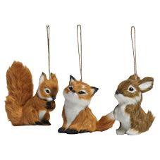 Wilko christmas tree decorations fox squirrel and bunny asst wilko christmas tree decorations fox squirrel and bunny asst festive forest solutioingenieria Gallery