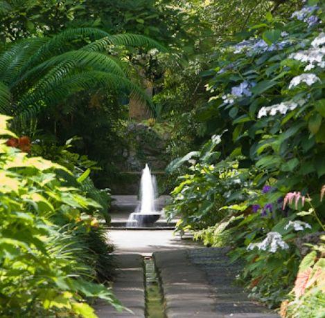 Italy, Gardens and Parks Giardini La Mortella, Forio