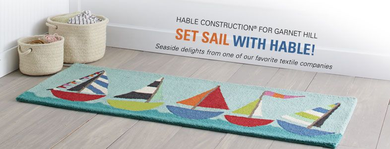Kind Of Obsessed Thanks A Lot Lara Hable Construction For Garnet Hill Hable Rugs Textile Company Rugs Home Decor