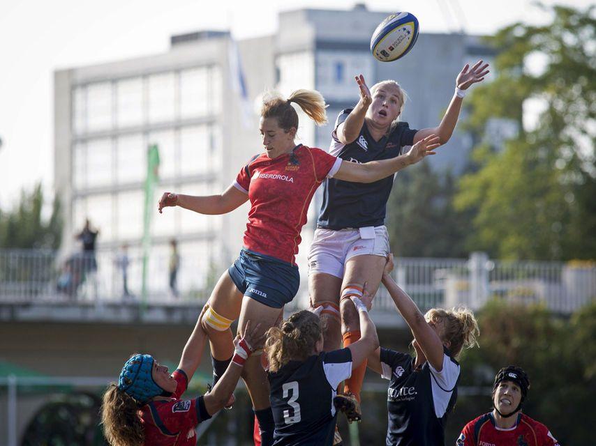 España campeona de Europa de rugby femenino
