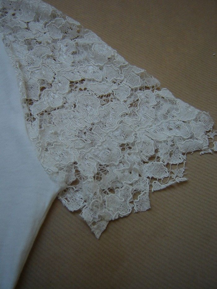 White lace style reload by virginie peny diy fashion white lace virginie peny do it yourself projects personal style solutioingenieria Image collections