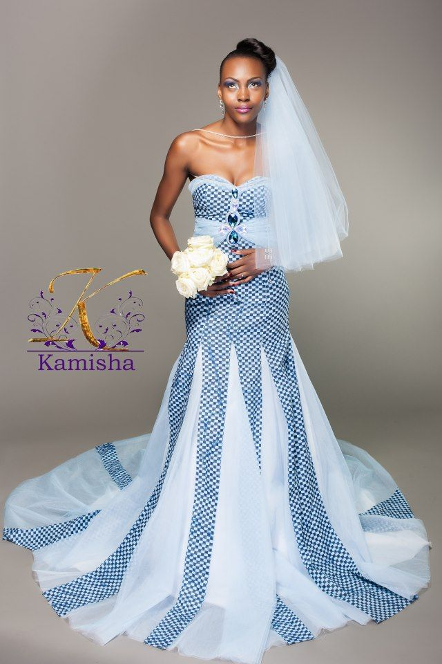 Kamisha Mode Wedding Dress African Print In Fashion African
