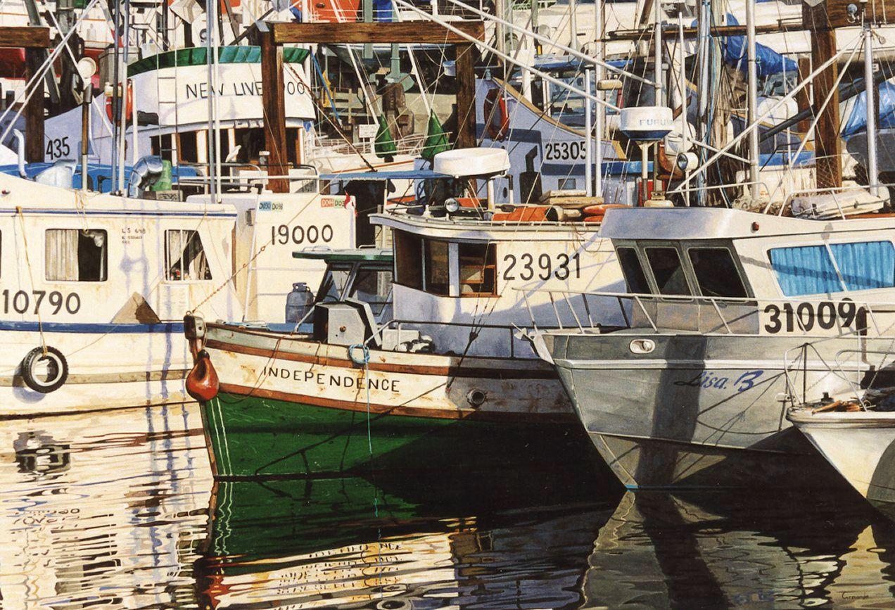"""Armando Zesatti. """"Independence"""" Acrílico sobre tela. 89x129cm. 1999.   www.zesatti.com"""