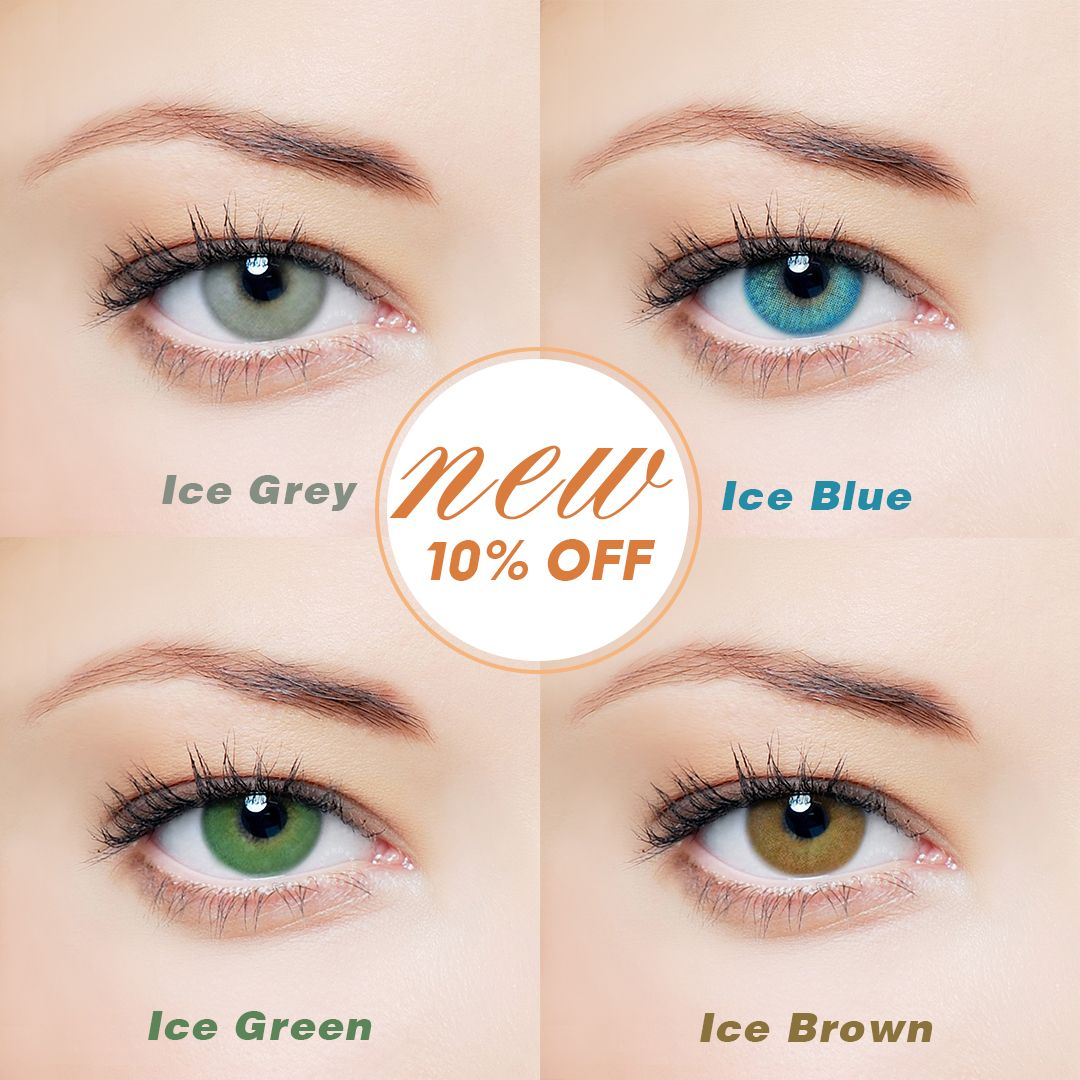 Buy Vcee Ice Contacts Circle Lenses Prescription Contacts Online Vceebeauty Circle Lenses Contact Lenses Colored Colour Your Eyes