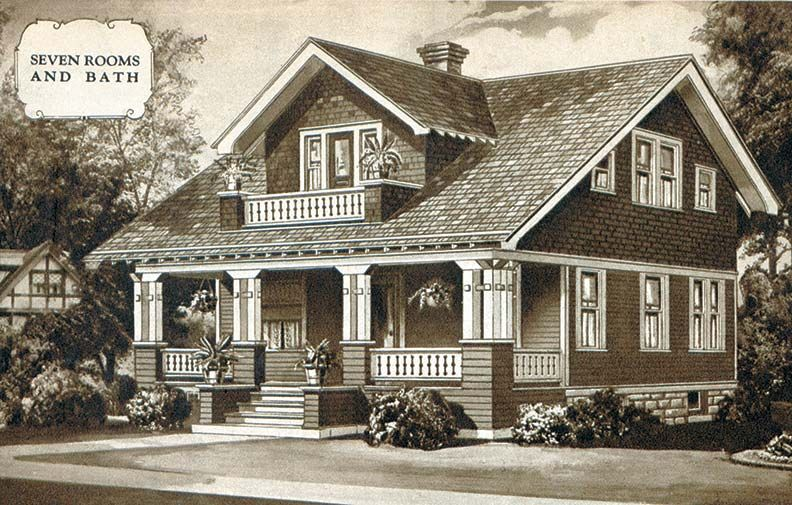 The Story on Sears Houses | Craft house, House and Modern