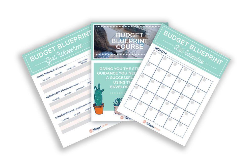 Budget Blueprint The Budget Mom Budgeting Budget Expenses Blueprints