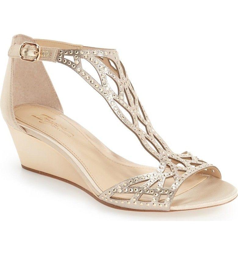 Bridal Shoes At Nordstrom: Imagine By Vince Camuto 'Jalen' Wedge Sandal (Women