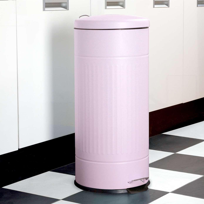 Pink Candy Rose 30 Litre Pedal Bin