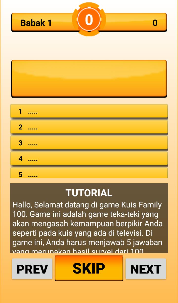 tutorial family seratus