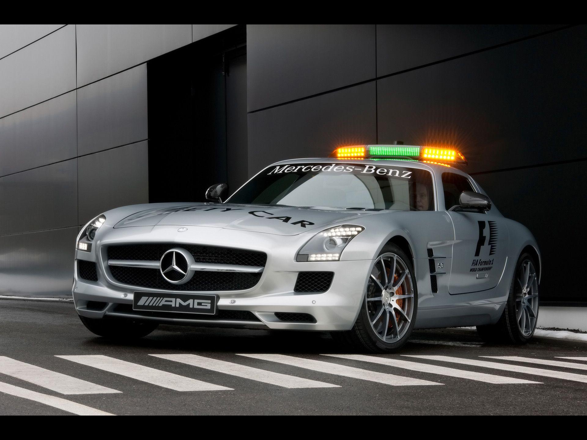2010 Mercedes Benz Sls Amg Speedshift Coupe White Red Leader