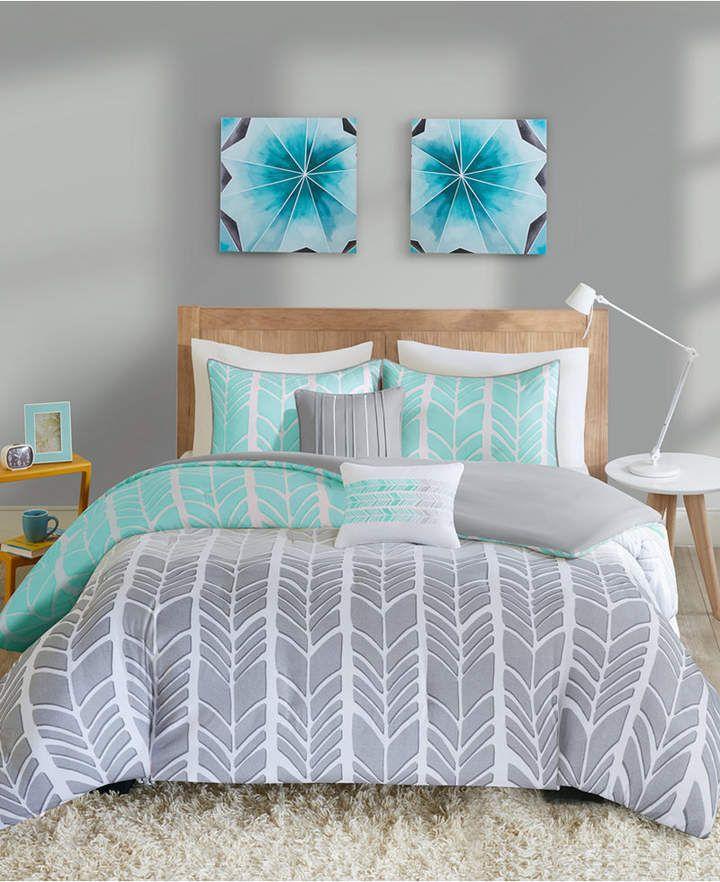 Intelligent Design Adel 5 Pc Full Queen Comforter Set Bedding