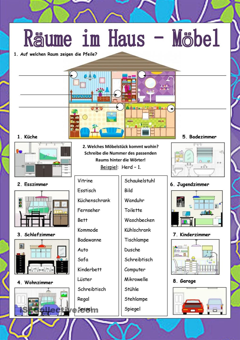 1000+ images about Wortfelder on Pinterest | Deutsch, Worksheets