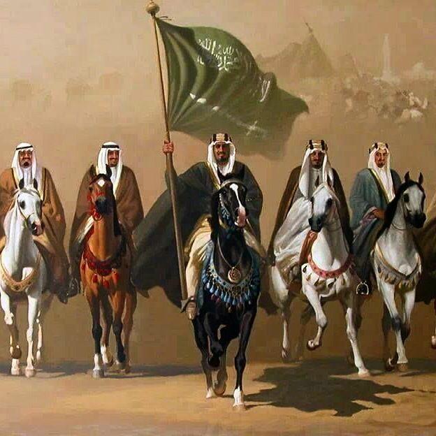 الملوك المملكه العربيه السعوديه Art Arabian Art Islamic Paintings