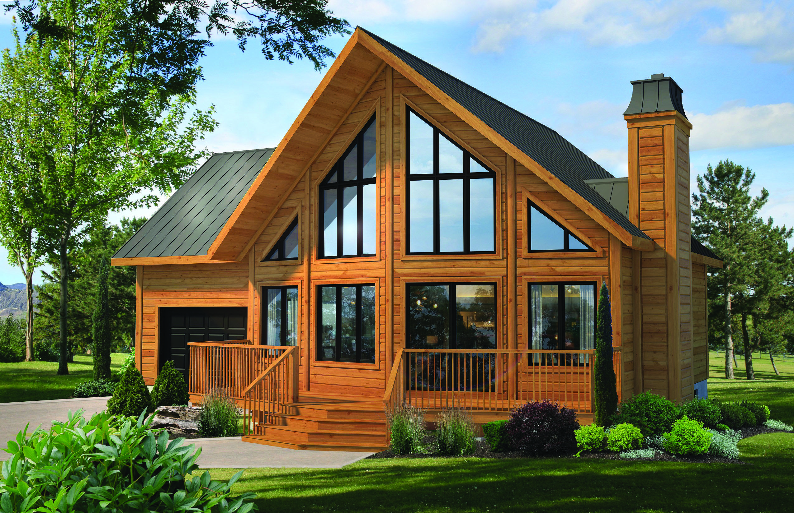 Classic Log Cabin Home Request A Quote In 2020 Cottage Plan Barn House Plans Craftsman House Plans