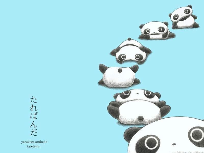 tarepanda wallpaper by raynou Cute panda drawing, Kawaii