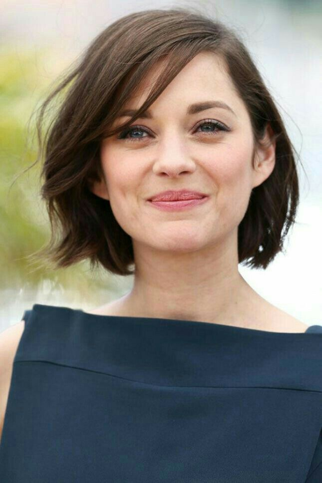 Short Bob Haircut On One Of My Fave Actresses Marion Coltilard Short Hair Styles Hair Styles Thick Hair Styles