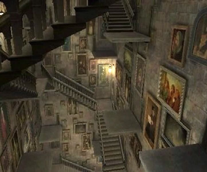 Harry Potter Staircase : Hogwarts moving staircases harry potter up and down on