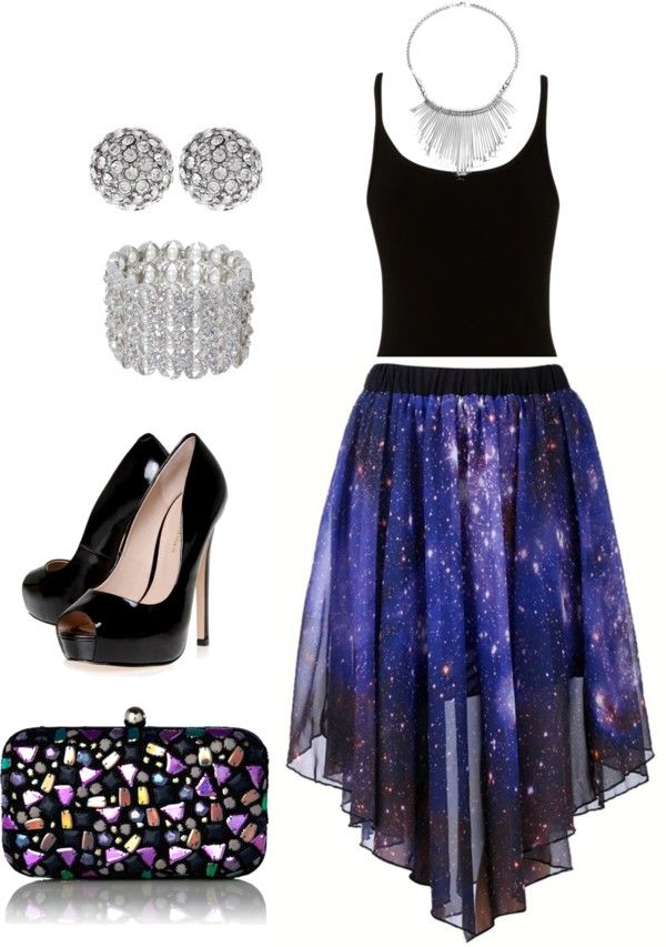 """Twinkles"" by e-magnifique ❤ liked on Polyvore"