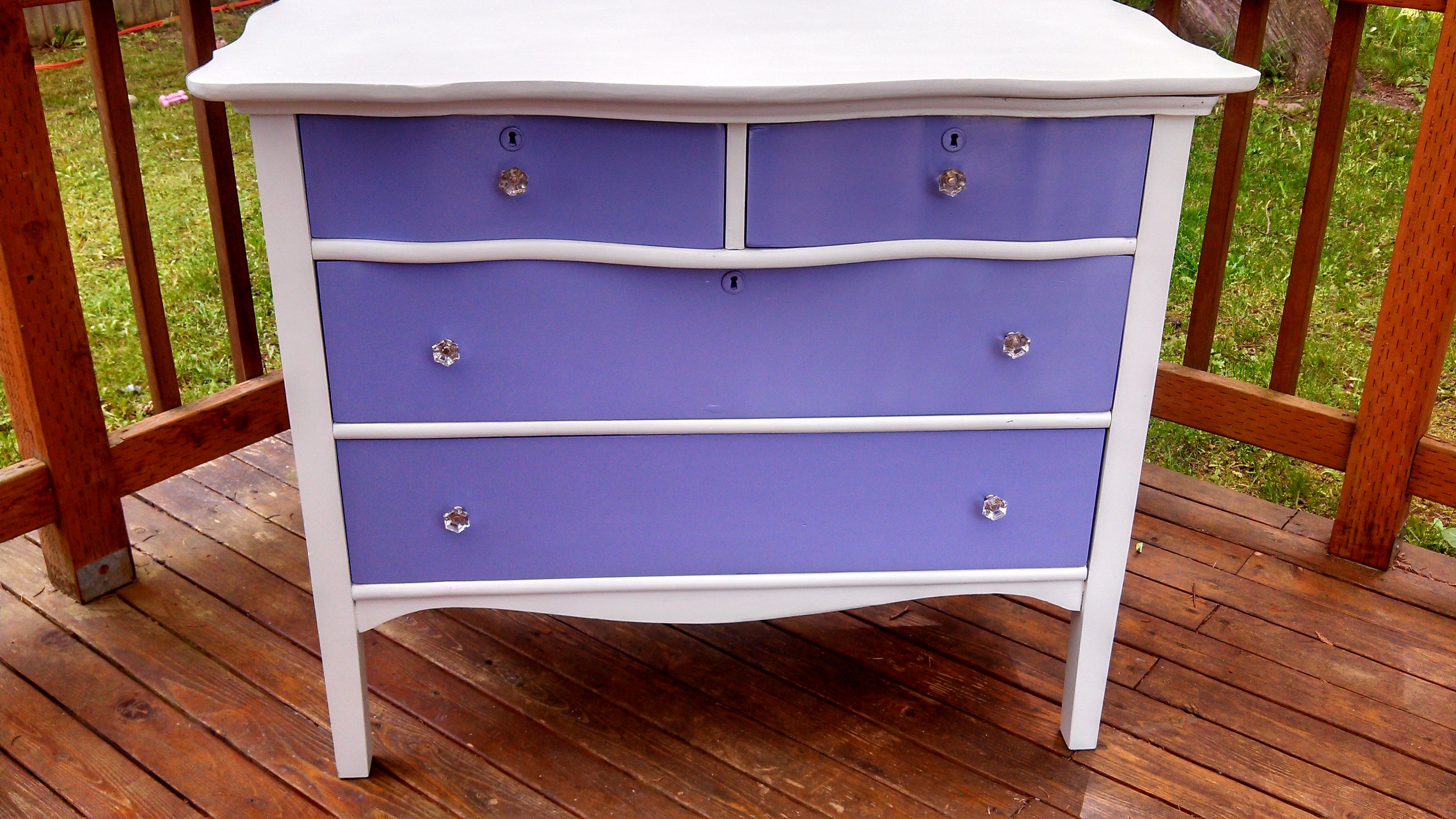 This is a beautiful dresser that I have a refinished, its