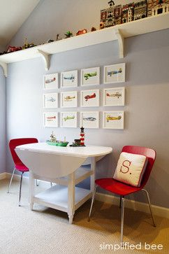 Lego Display Shelf Design Ideas Around The Top Of His Room