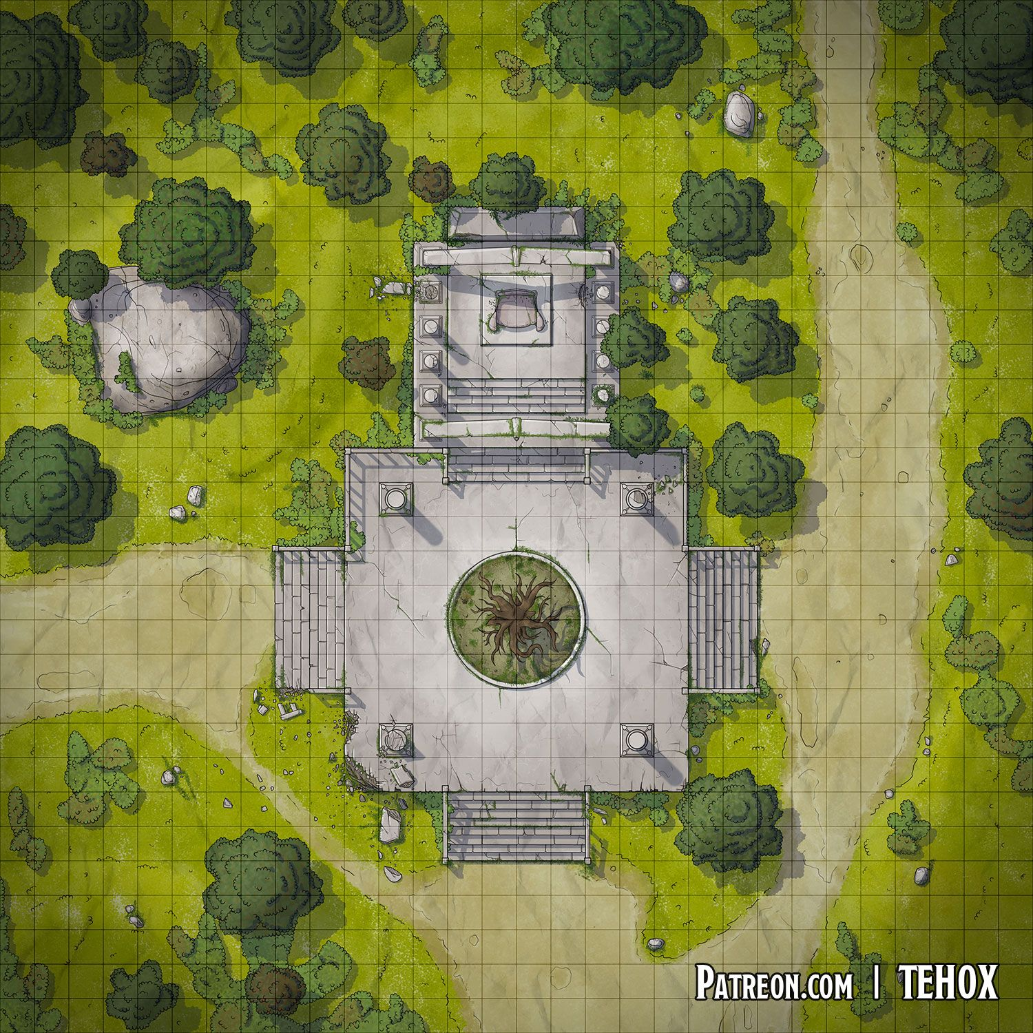 A Throne in the Woods (Launch) in 2019 | Fantasy map, Dnd