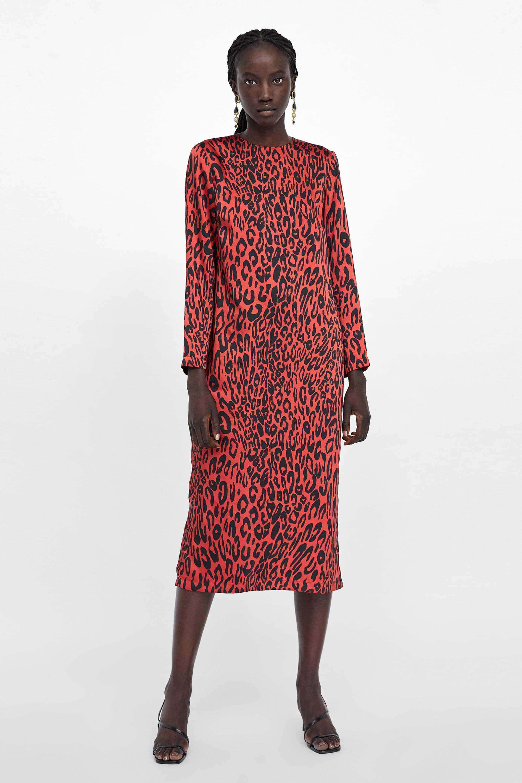 Animal print dress (con imágenes) | Vestidos animal print