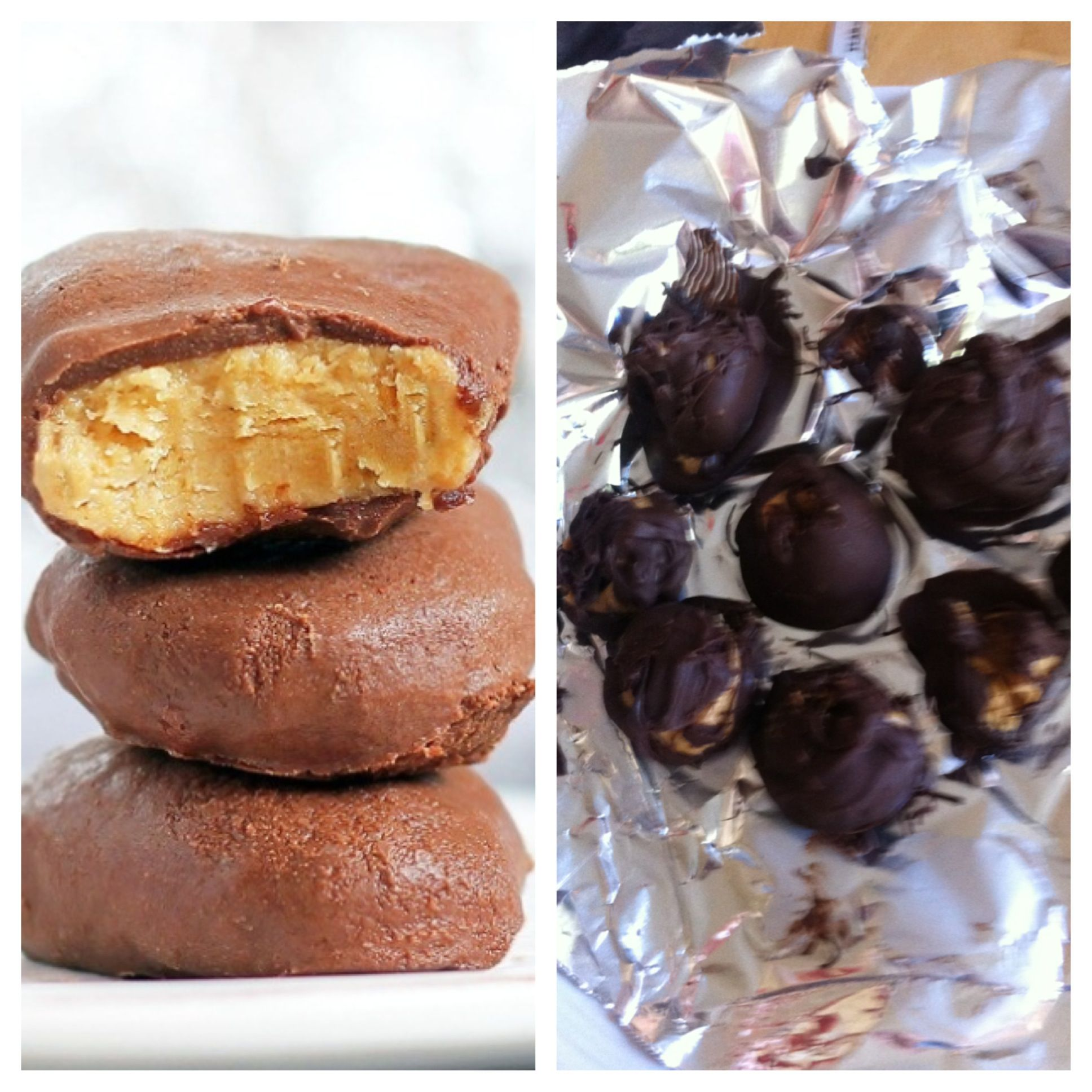 My attempt  for homemade reeses! NAILED IT!!!!!!!!!!!!!!!!!!!!!!!!!!!