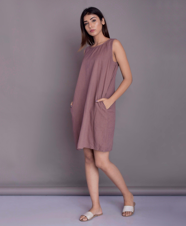 Handmade by Modernmoveboutique Full length dress Linen Sleeveless Maxi Dress Maxi for women Linen Maxi